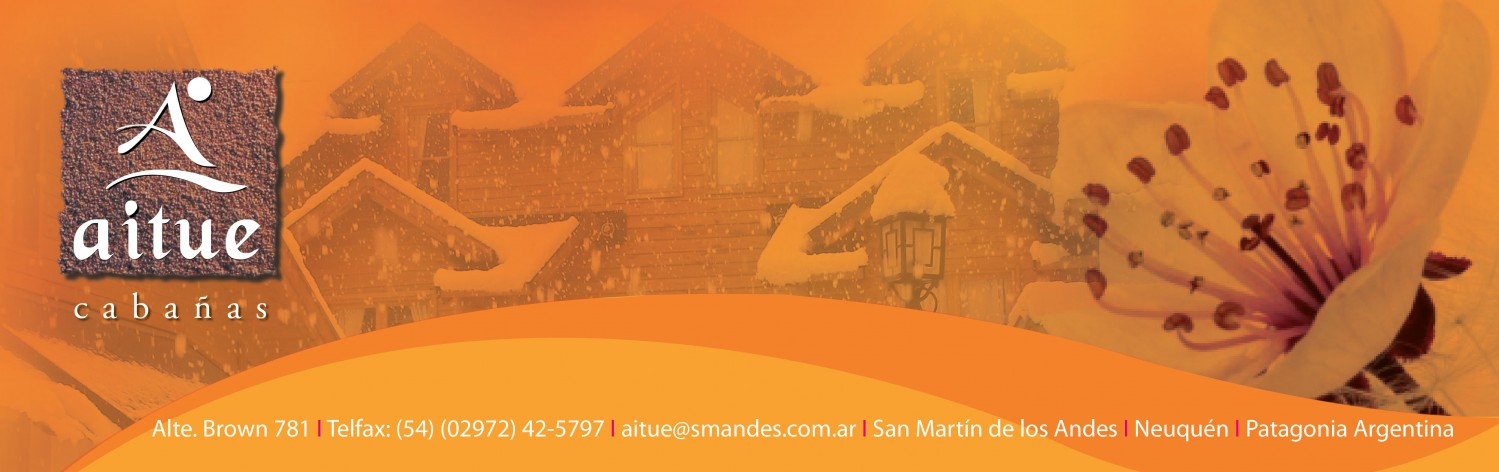 Cabañas Aitue San Martín de los Andes